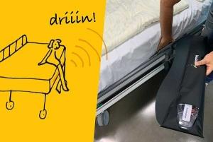 Sensore da letto Bucinator: prevenire cadute